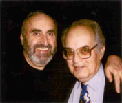 Right: Marvin Scilken, Creator of U*L; Publisher & Editor for Issues 1-113 (1973-1999) Left: Maurice J. (Mitch) Freedman, Publisher & Editor for Issues 114- (2000- )